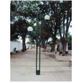 poste de iluminação colonial