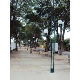 venda de poste curvo para praça Mooca